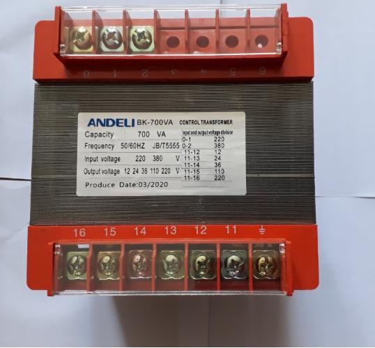 Biến áp điểu khiển BK-700VA