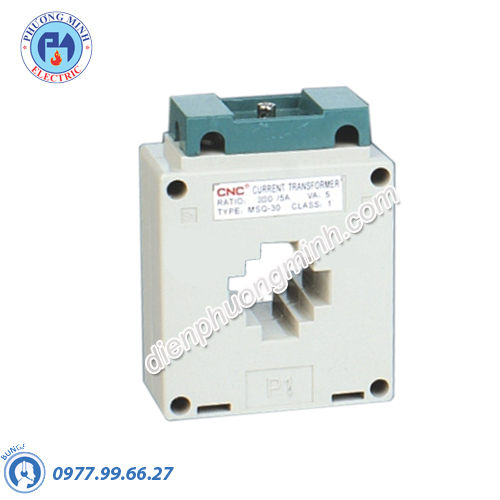 Biến dòng đo lường nhựa vuông CNC - Model MSQ-30 50/5A