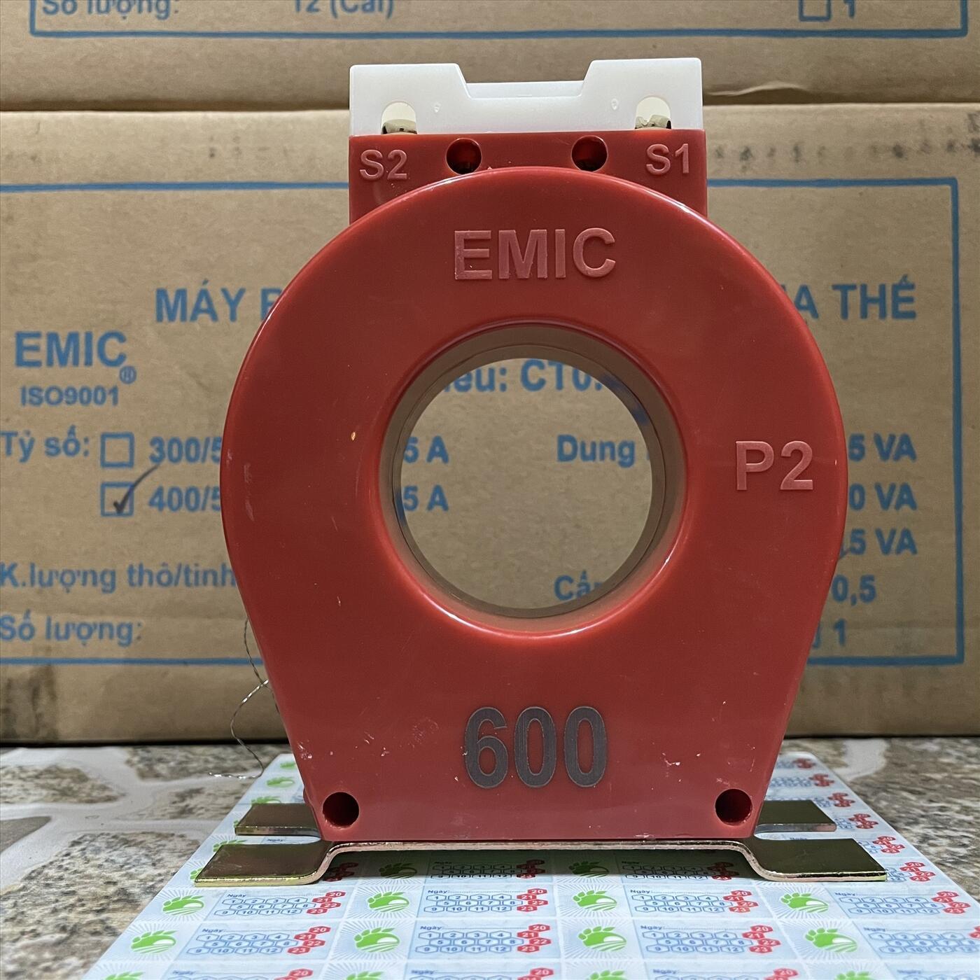 Biến Dòng EMIC 600/5A