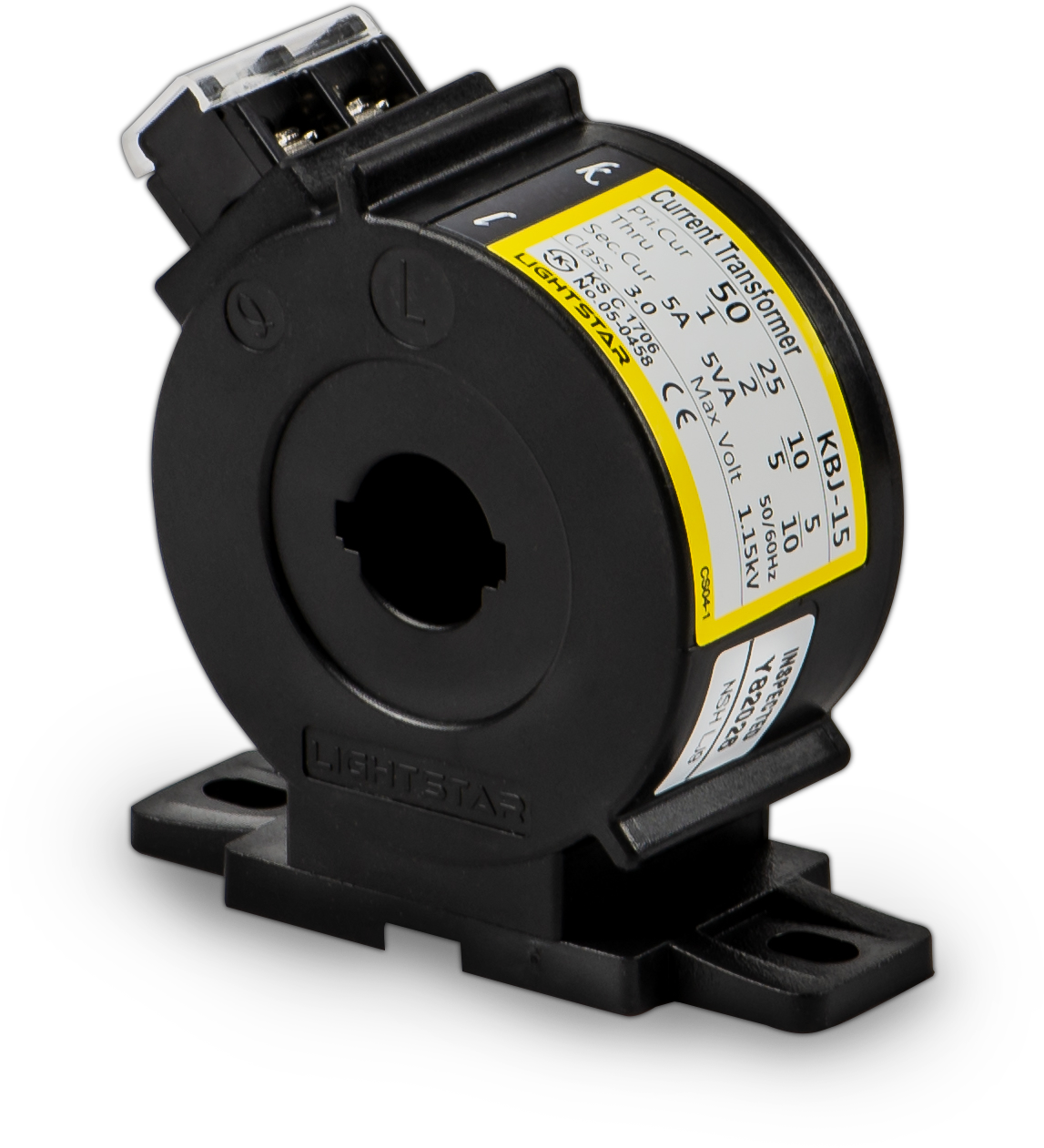 Biến dòng đo lường KBJ-15 (50/5A60/5A,75/5A,100/5A,120/5A,150/5A