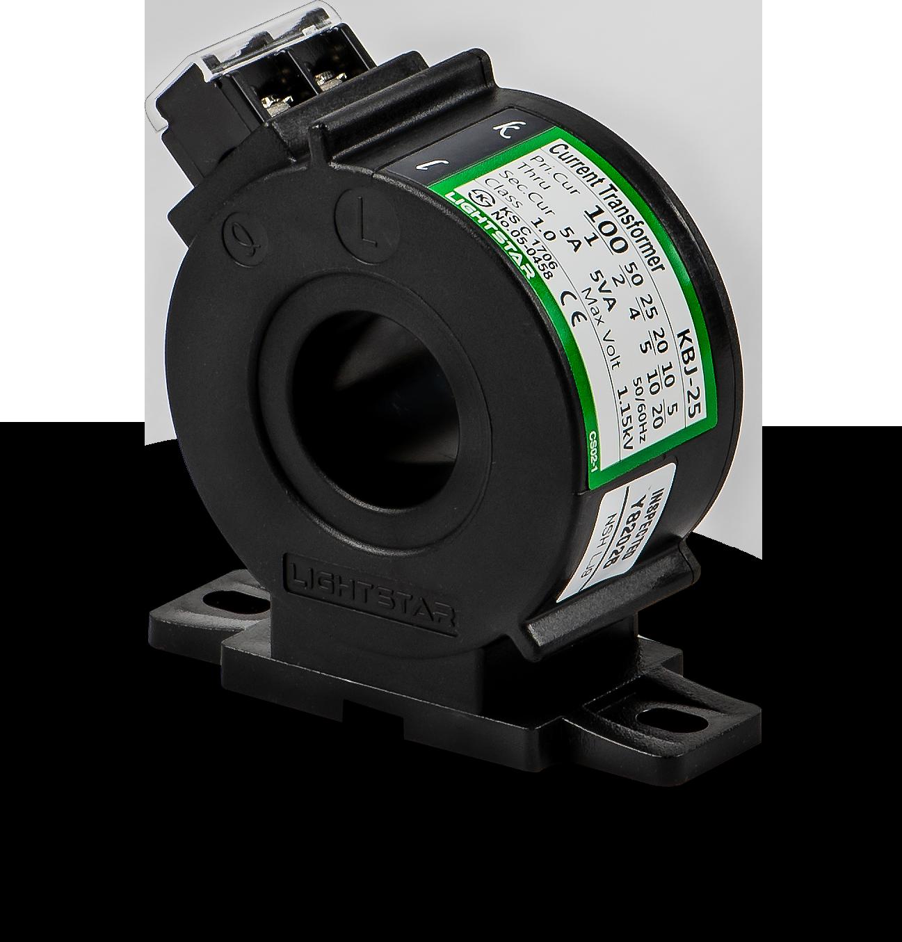 Biến dòng đo lường KBJ-25 (50/5A,75/5A,100/5A,120/5A,150/5A)