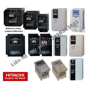 Biến tần Hitachi WJ200-001LFU, WJ200-002LFU, WJ200-004LFU, WJ200-007LFU, WJ200-015LFU, WJ200-022LFU,