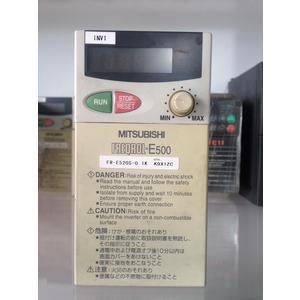 Biến tần Mitsubishi E500 100w 220v cũ