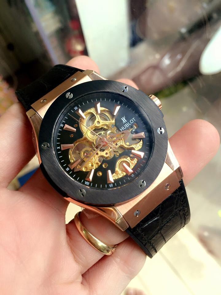 Đồng hồ nam Hublot tourbillon automatic HBL034