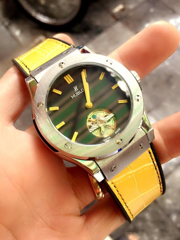 Đồng hồ nam Hublot tourbillon automatic HBL036