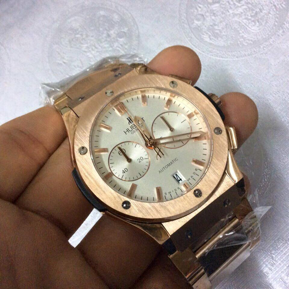 Đồng hồ nam Hublot chronograph automatic Stainless Steel HBL043