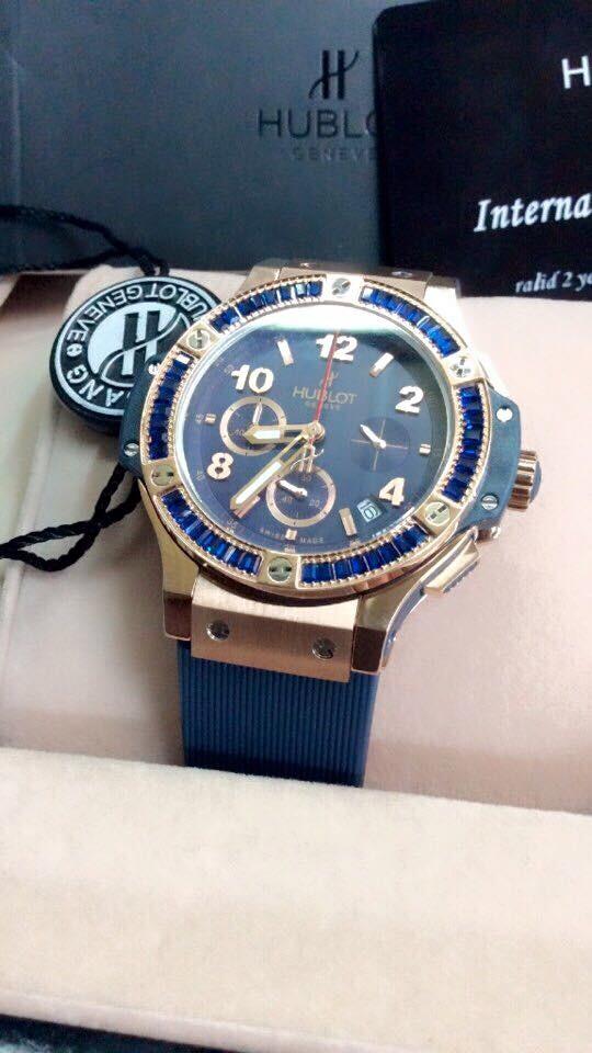 Đồng hồ nữ Hublot Tutti Frutti dial brown HBL070