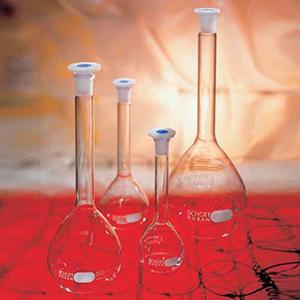 Bình Định Mức Thủy Tinh Trắng Nút Nhựa PE Mới, Class A, Chứng Nhận Theo Lô - DURAN®