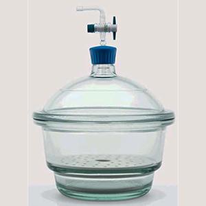 Bình hút ẩm có vòi fi 300 (isolab - đức)
