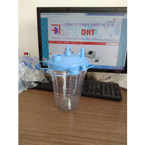 Health Medical Disposable Suction Canister 850cc Filter type
