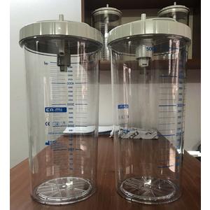 Bình nhựa 5000 ml cho máy hút dịch Cami