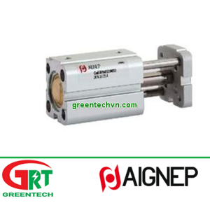 BJ32100   Aignep   Magnetic piston cylinder / with through rod / double-acting   Aignep Vietnam