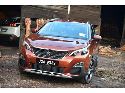 Peugeot 3008 màu Cam đồng siêu đẹp