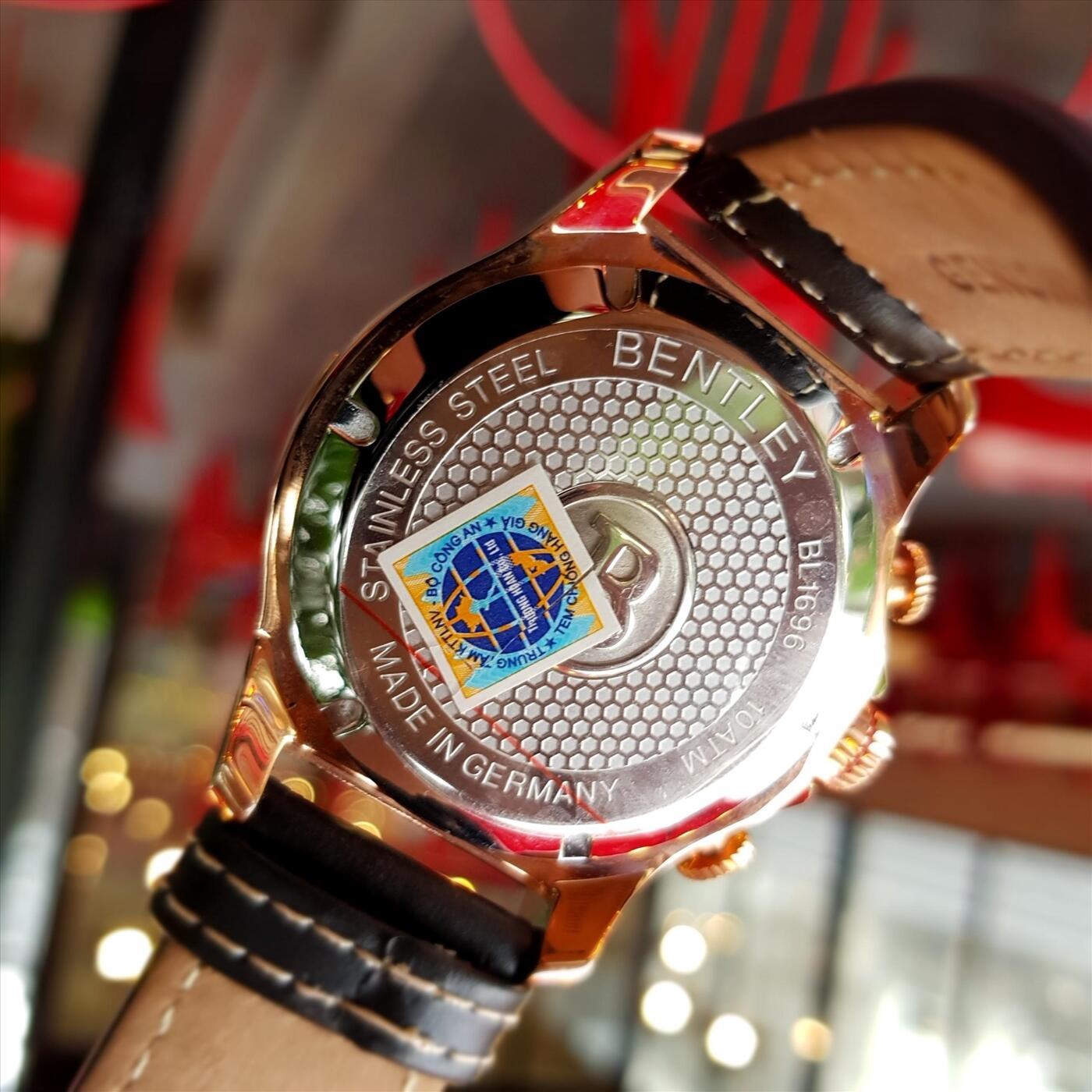 Đồng hồ nam Bentley BL1696-10RBB