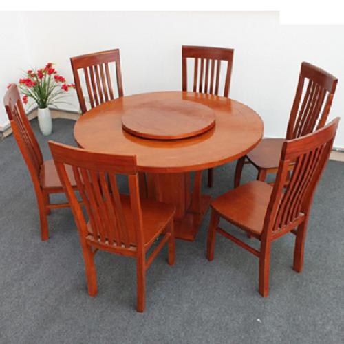 mâm xoay bàn ăn bằng gỗ