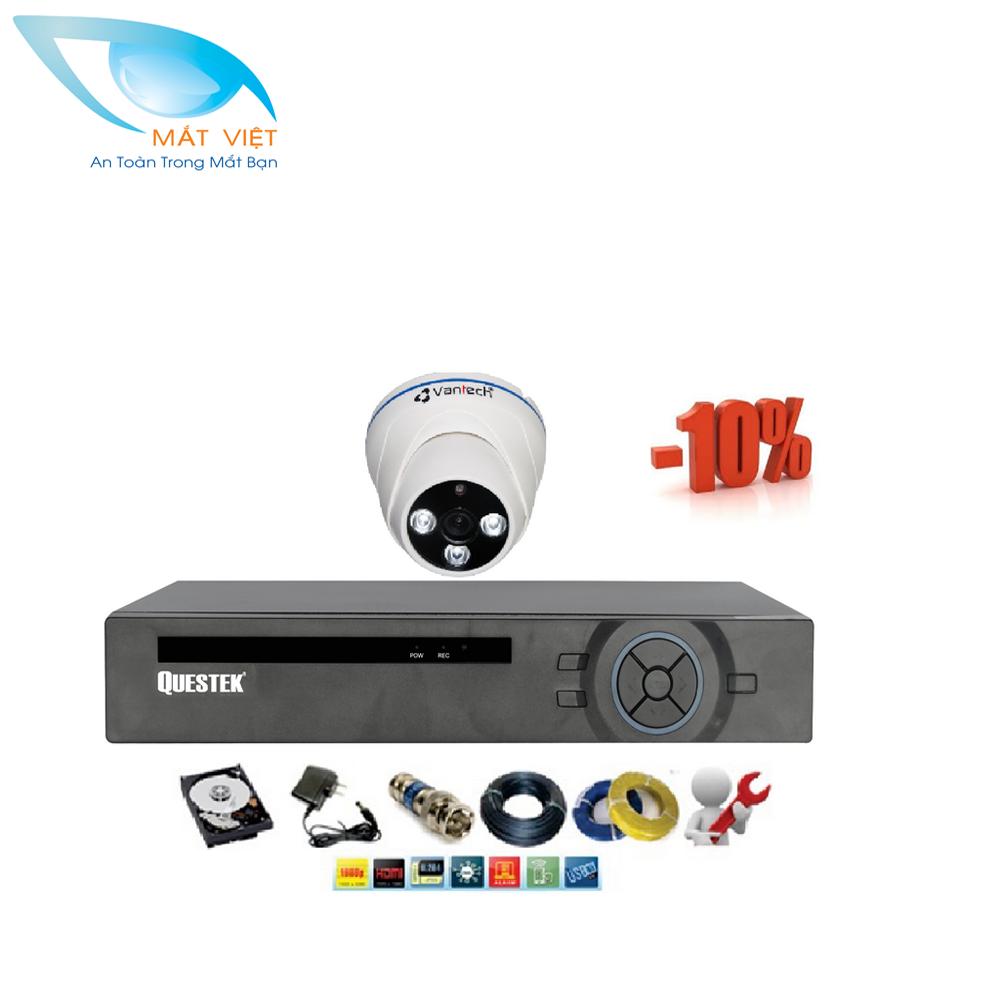 Bộ 1 camera Questek QV-01