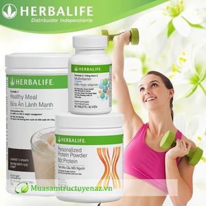 Bộ 3 Herbalife sữa giảm cân - giảm cân an toàn hiệu quả