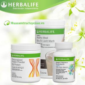 Bộ 3 thực phẩm chức năng herbalife dinh dưỡng lành mạnh
