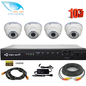 Bộ 4 camera Vantech VD-04