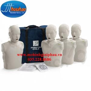 Bộ 4 mô hình thực hành kỹ năng CPR – AED trên trẻ em có kiểm soát điện tử