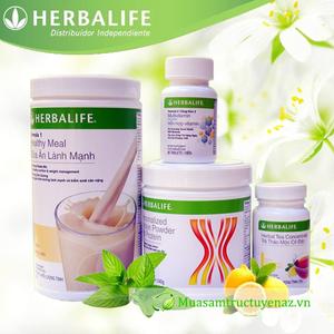 Bộ 4 Thực phẩm Herbalife giảm cân nâng cao