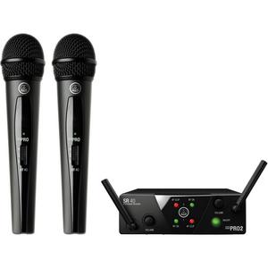 Bộ âm thanh không dây AKG WMS40 Mini Dual Vocal Set Wireless