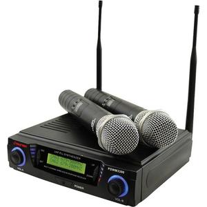 Bộ âm thanh không dây Pyle Pro PDWM3300 Professional UHF