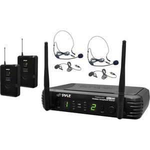 Bộ âm thanh không dây Pyle Pro PDWM3400 UHF. Tần số 673 to 697.975 MHz