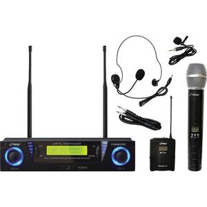 Bộ âm thanh không dây Pyle Pro PDWM3500 Professional UHF