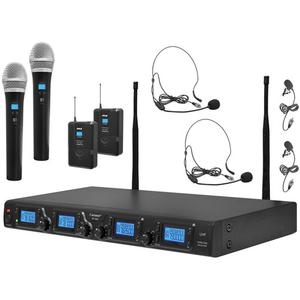 Bộ âm thanh không dây Pyle Pro PDWM4350U - 4-Channel