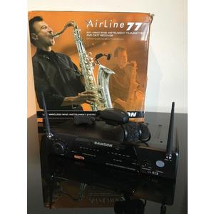 Bộ âm thanh không dây Samson AirLine 77 saxophone, sân khấu chuyên nghiệp