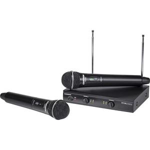 Bộ âm thanh không dây Samson Stage 200 Dual-Channel Handheld VHF (SWS200HH-D)