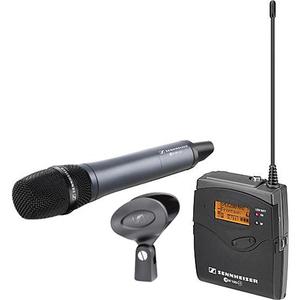 Bộ âm thanh không dây Sennheiser ew 135-p G3 Camera Mount Wireless Microphone System with 835 Handhe