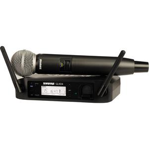 Bộ âm thanh không dây Shure GLXD24/SM58 Handheld Wireless System (Z2 Band: 2400 - 2483.5 MHz)