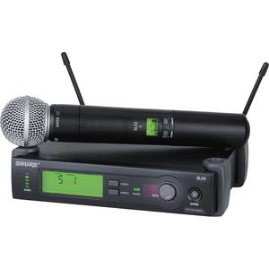 Bộ âm thanh không dây Shure SLX24/SM58 Wireless Handheld Microphone System with SM58