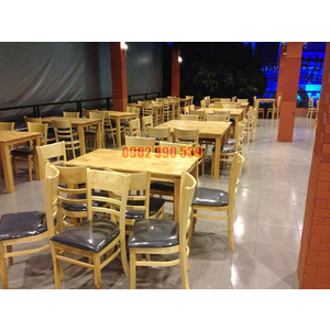 Bộ bàn ghế ăn nhà hàng
