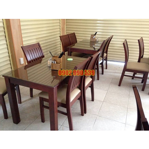 Bộ bàn ghế nhà hàng giá rẻ