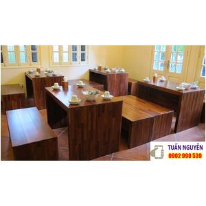 Bộ bàn ghế quán ăn cao cấp