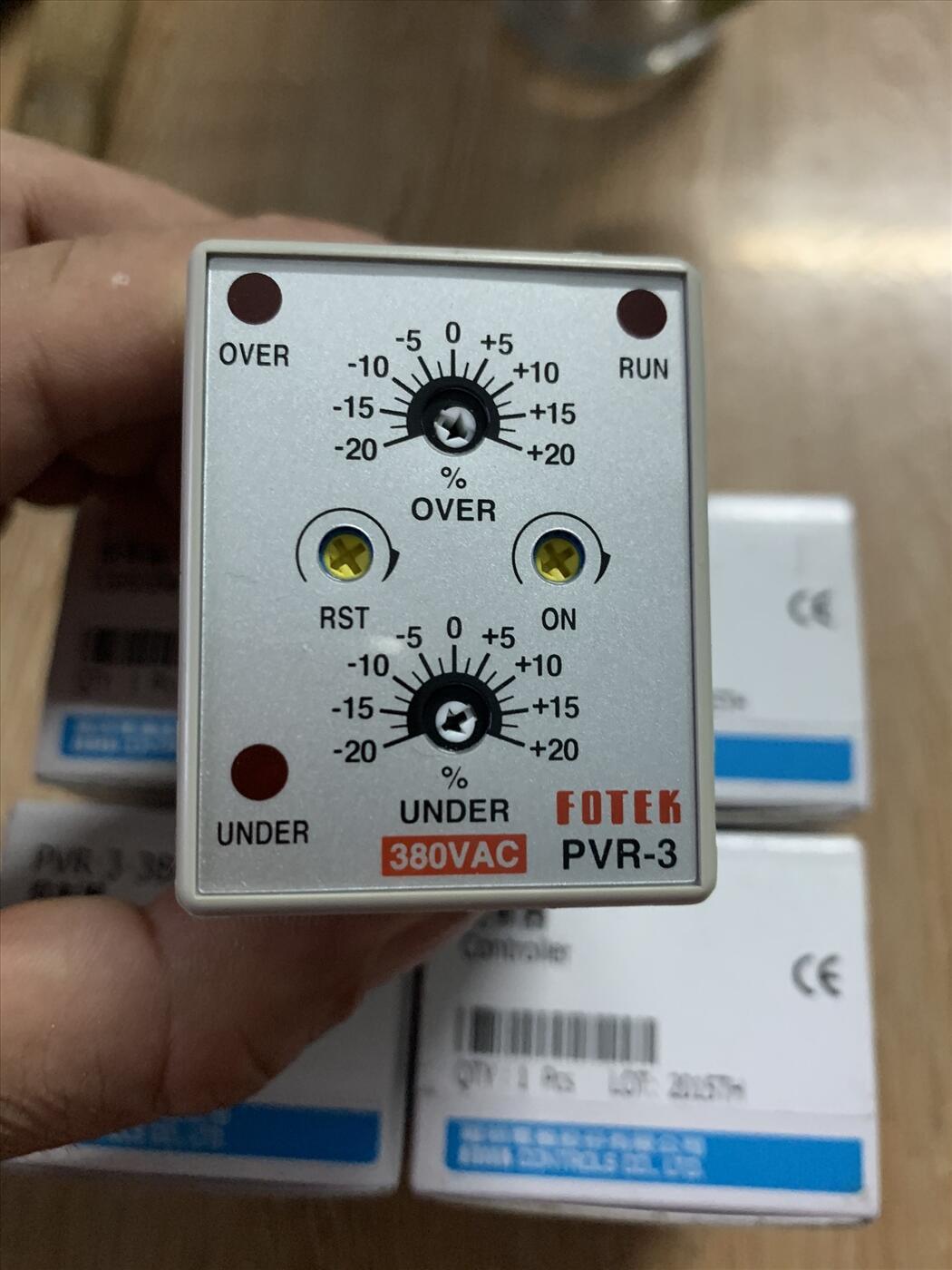 Bộ bảo vệ mất pha PVR-3 380VAC
