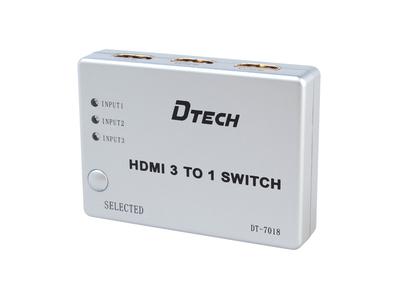Bộ Chia tín hiệu HDMI 3 vào 1 Ra