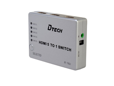 Bộ Chia tín hiệu HDMI 5 vào 1 Ra