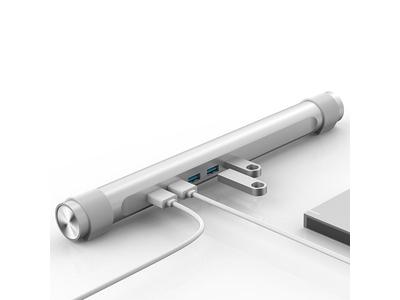 Bộ chia USB HUB 4 cổng USB 3.0/ Làm đế kê cho laptop
