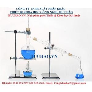 Bộ chưng cất chiết xuất tinh dầu bằng hơi nước mini 1000 ml - chất liệu thủy tinh