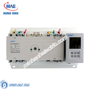 Bộ chuyển nguồn ATS (tích hợp với MCCB) 4P - Model NZ7-400S/4