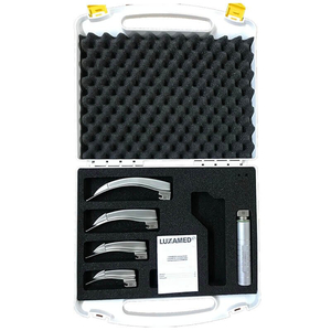 Bộ đặt nội khí quản người lớn - trẻ em ánh sáng lạnh Led 2.5V Luxamed (4 lưỡi)