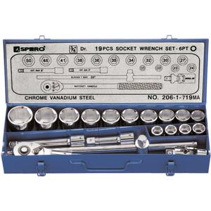 Bộ đầu khẩu vặn ốc SPERO 206-1-719MA