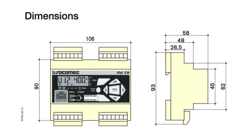Bộ điều khiển ATS C20