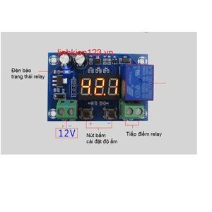 Bộ điều khiển theo độ ẩm XH-M451