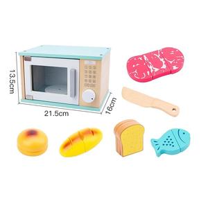 Bộ đồ chơi gỗ Lò vi sóng QCL3009