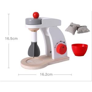 Bộ đồ chơi gỗ máy đánh kem QCL3007